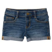 Rolled Jean Shorts