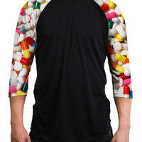 Pills Raglan Sleeves - READY TO SHIP