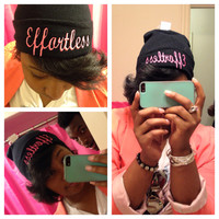 Effortless... Beanie by est101093 on Etsy
