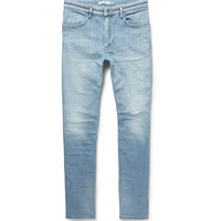 nonnative - Dweller Slim-Fit Washed Stretch-Denim Jeans