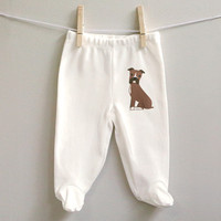 Boxer cotton baby pants for baby boy or baby girl