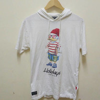 Duck Duke by B One Soul T-shirt Hoodie big logo Duck vintage