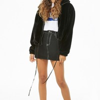 Plush Zip-Front Jacket