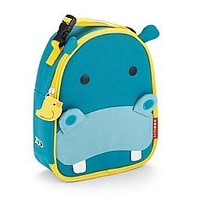 Skip Hop Zoo Hippo Lunch bag : Daytrip Society