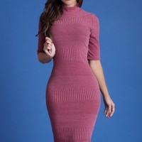 Fall Fantasies Mauve Dress