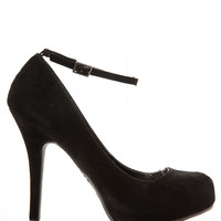 Ankle Strap Platfrom Pumps