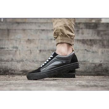 Vans Mastermind JAPAN All Black Sneaker Casual Shoes