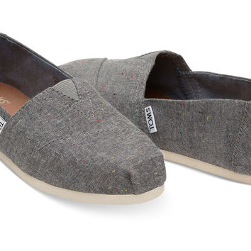 BLACK MULTI SPECKLE CHAMBRAY WOMEN'S CLASSICS