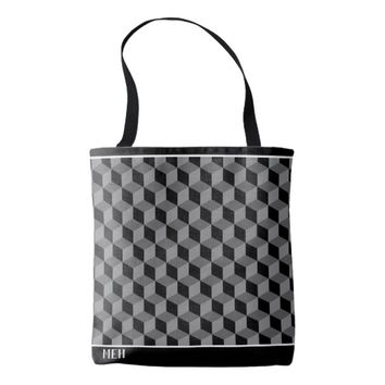 GS Cubed Minor Monogram Tote Bag