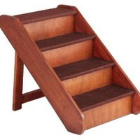 Solvit PupSTEP Wood Pet Stairs, Extra Large