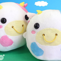 Get Cute Moo Moo-Chan Plush Doll Cushions at Hamee!