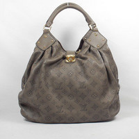 Louis Vuitton Cowhide Single Shoulder Bag Khaki - $206.00