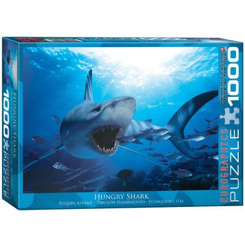 Hungry Shark - 1000 Piece Jigsaw Puzzle