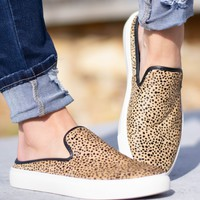 Abbot Cheetah Slip On Shoes