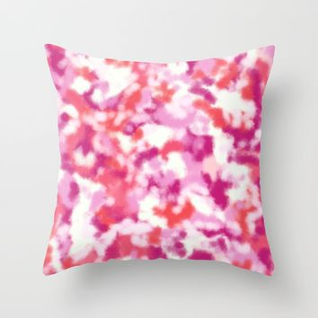 Cecilia Abstract Throw Pillow by Lisa Guen Design