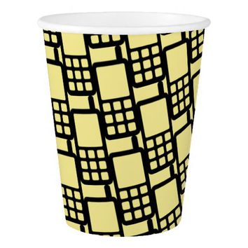 Mobile Phone Funky Paper Cup