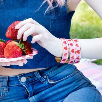 Strawberry Field Bracelet