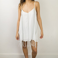 Lolly Tassle Trim Dress