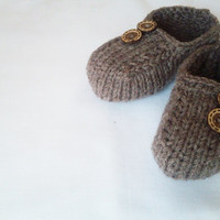 Boy Slippers / Slippers for kids /  Wool slippers for boys..