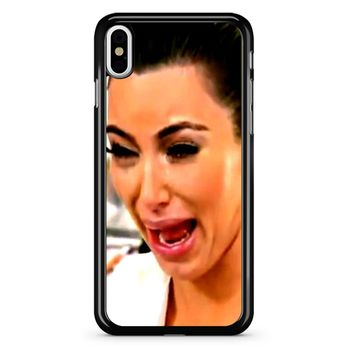 Kim Kardashian Crying iPhone X Case