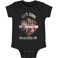 Motley Crue Bad Boys Shield Bodysuit - Children - Rockabilia
