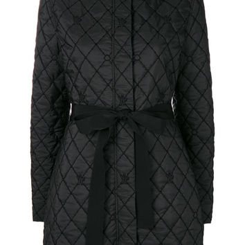 Moncler Gamme Rouge Quilted Tie Waist Padded Jacket - Farfetch