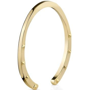 House of Harlow 1960 Jewelry Sideways Horseshoe Open Bangle