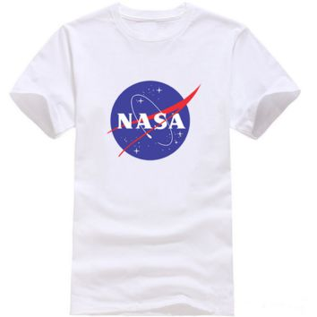 The New Unisex Lover's Cotton NASA Printed Short Sleeved Tee