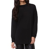 LA Hearts Turtleneck Top - Womens Tee