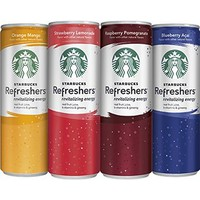 STARBUCKS REFRESHERS STASH SAFETY DIVERSION 12 FL OZ RASPBERRY POMEGRANATE with Free BakeBros Silicone Container and Sticker