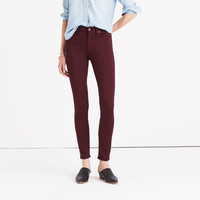 """9"""" High-Rise Skinny Sateen Jeans"""