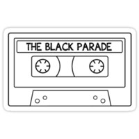 The Black Parade cassette tape