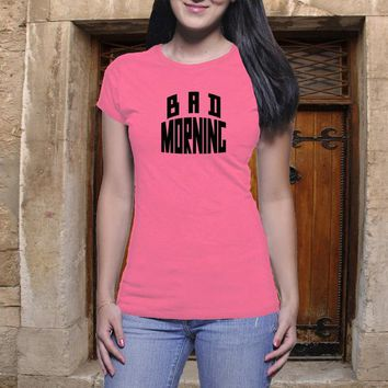 Bad Morning Shirt, Girl Power, Sassy Shirt, Tumblr Tee, Casual Shirt, Classic Tee, Bad Day, Boyfriend Tee, Bad Day Tee, Funny Shirt