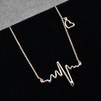 Heartbeat Necklace