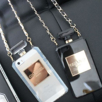 Chanel Inspired Perfume Bottle IPhone Case