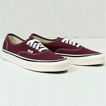 VANS Canvas shoes flat shoes Women Shoes B-CSXY Wine Red