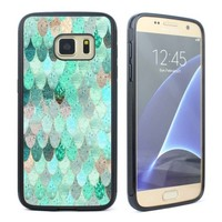 Cute Summer Mermaid Rubber Case Cover for Samsung Galaxy S5 S6 S7 Phone Case
