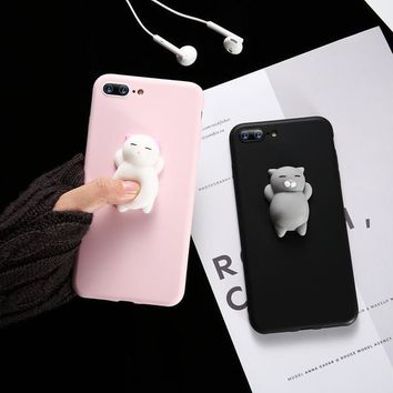 Kiss Cat iPhone Cases