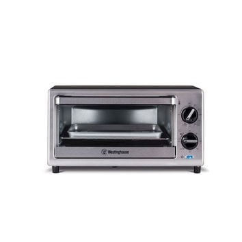 4 Slice Toaster Oven Stainless Steel200F - 450F Adjustable Temperature Control