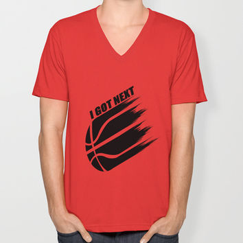 SLAMDUNK Unisex V-Neck by Robleedesigns