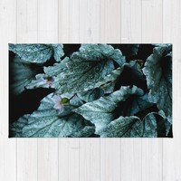 Powerful nature. Begoniaceae Rug by VanessaGF