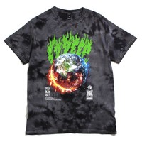 Cataclysm Tie Dye T-Shirt Black