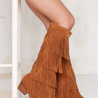 Jeffrey CampbellEsconder Fringe Suede Boot