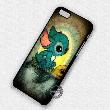 Lilo And Stitch Stained Glass Disney - iPhone 7 6 5 SE Cases & Covers