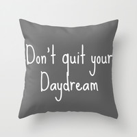 Daydream Throw Pillow by Tbonez