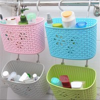 Bathroom Kitchen Glove Hanging Basket Storage Bag