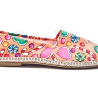 Born Hippy  / Nu Candy Multicolor Espadrilles / Handmade fabric shoes FREE SHIPPING