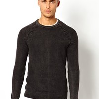 Pull&Bear Jumper with Oil Wash