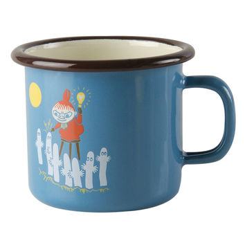 Vintage Little My enamel mug 2,5 dl