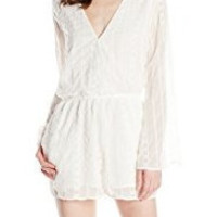 White Romper by Olive and Oak